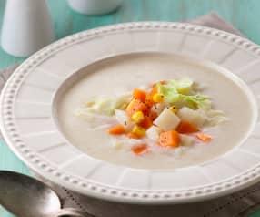 山藥豆奶蔬菜濃湯