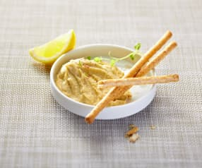 Aubergine and Almond Dip