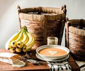 Sopa de jitomate con amaranto