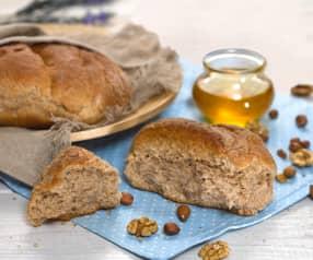 Medovo – ořechový chléb