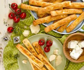 Sýrové tyčinky s bylinkami