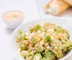 Romanesco-Salat