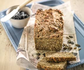 Buckwheat, Almond and Seed Bread