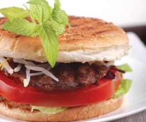 Lososové burgery