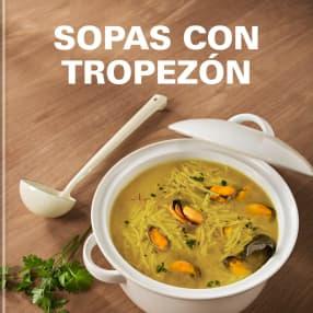 SOPAS CON TROPEZÓN