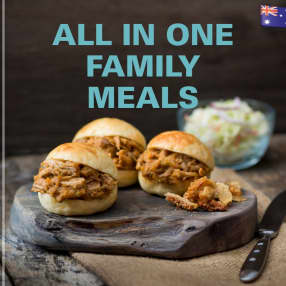 ALL IN ONE FAMILY MEALS