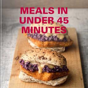 meals in under 45 minutes