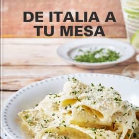 De Italia a tu  mesa