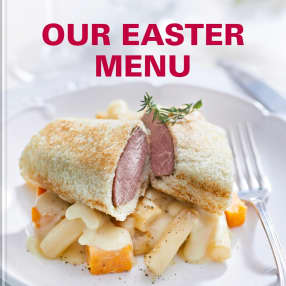 Our Easter Menu