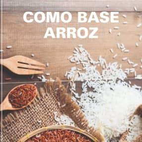 Como base arroz