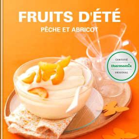 Fruits d'été - pêche et abricot