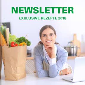 Newsletter - Exklusive Rezepte 2018