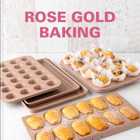Rose gold baking