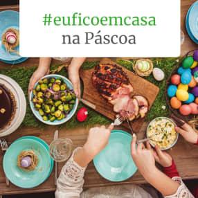 #euficoemcasa