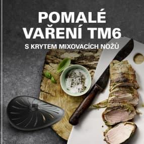 Pomalé vaření TM6 s krytem mixovacích nožů