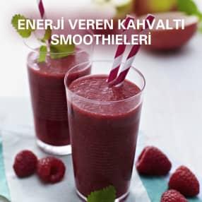 Enerji veren kahvaltı smoothieleri