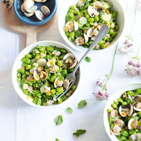Salade de fèves aux coques à la menthe - Cookidoo® - la plateforme de recettes officielle de ...