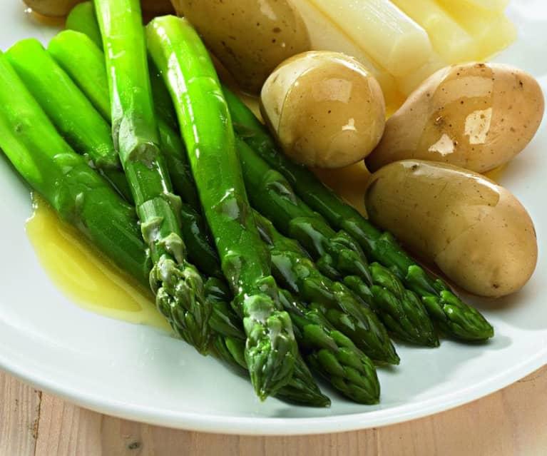 Chřest s brambory
