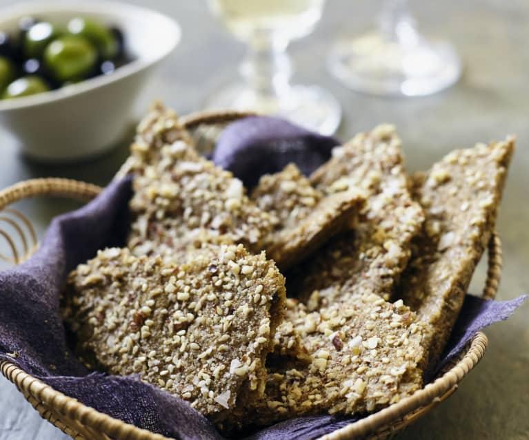 Linsen-Mandel-Cracker