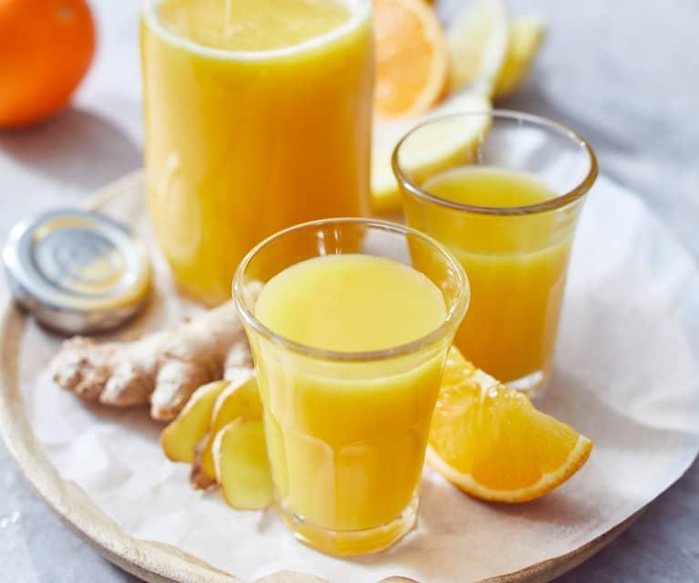 Ingwer-Orangen-Shot