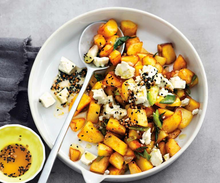 Salade chaude de pommes de terre