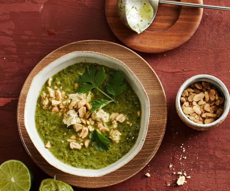 Spinat-Kokos-Cremesuppe