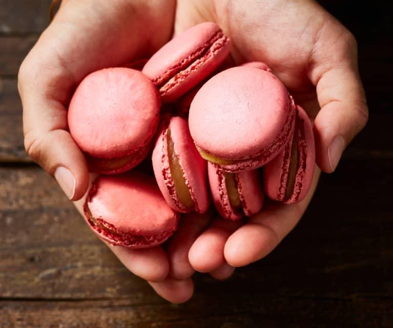 Macarons gingembre-litchi