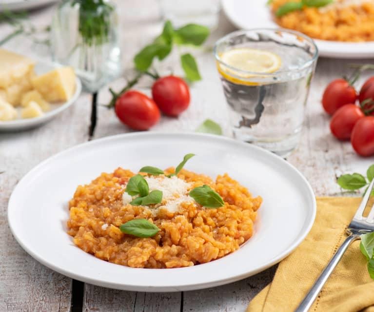 Risotto ze świeżymi pomidorami