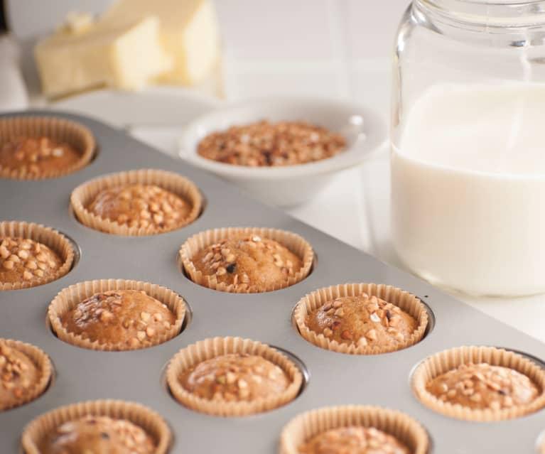 Minimuffins de sarraceno y miel (sin gluten)