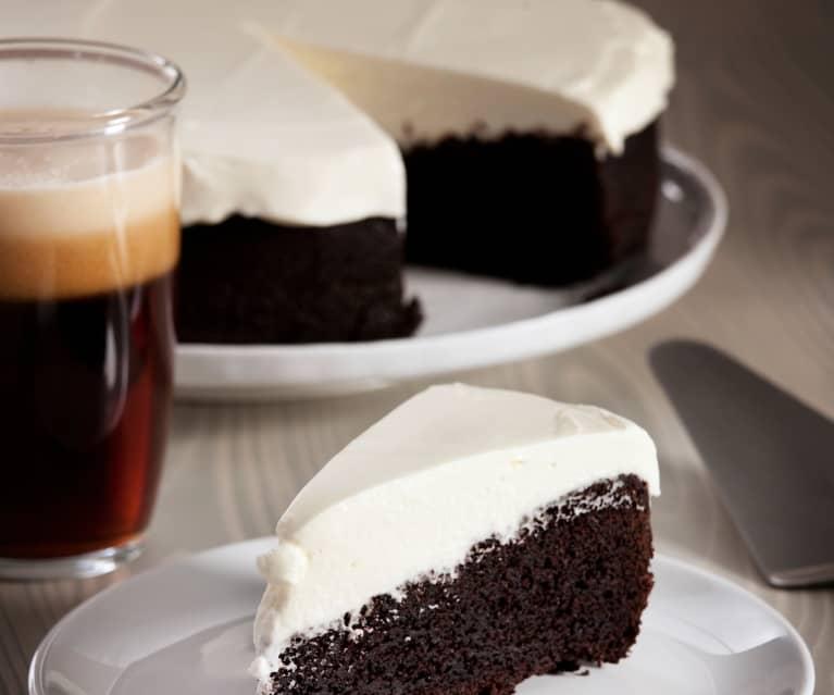Tarta con bizcocho de cerveza negra - Cookidoo® – la plataforma de recetas oficial de Thermomix®