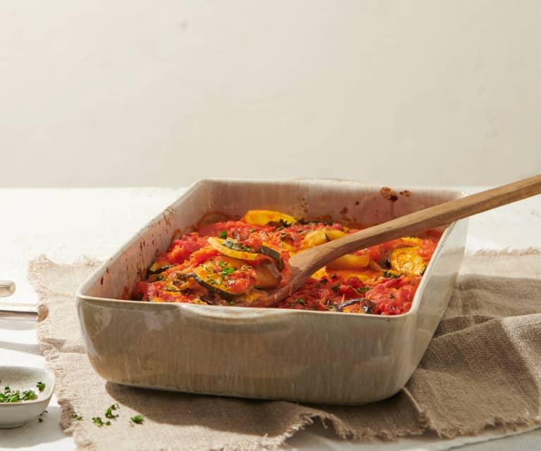 Tumbet (Mallorquinischer Gemüsegratin)