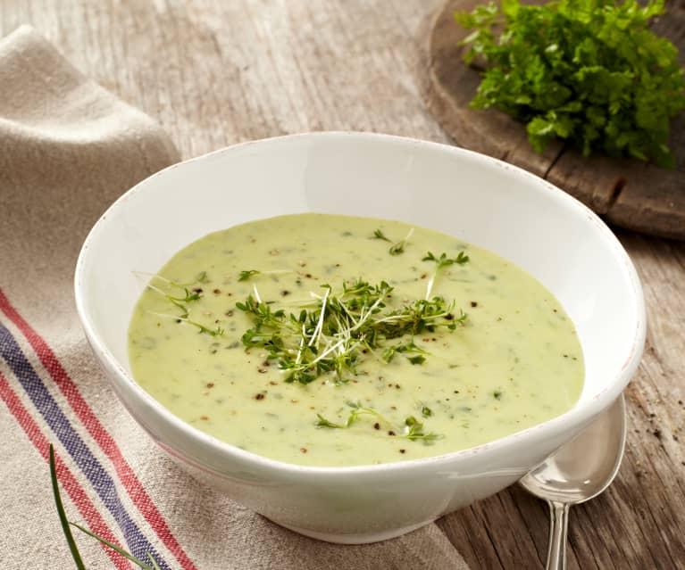 Kartoffel-Kräuter-Suppe