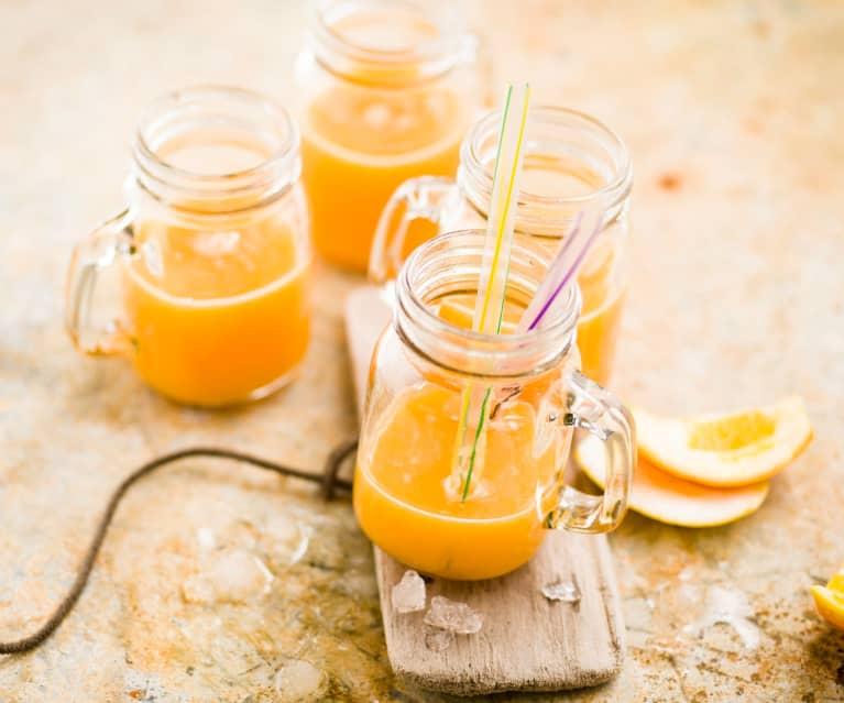 Cocktail orange, carotte et citron