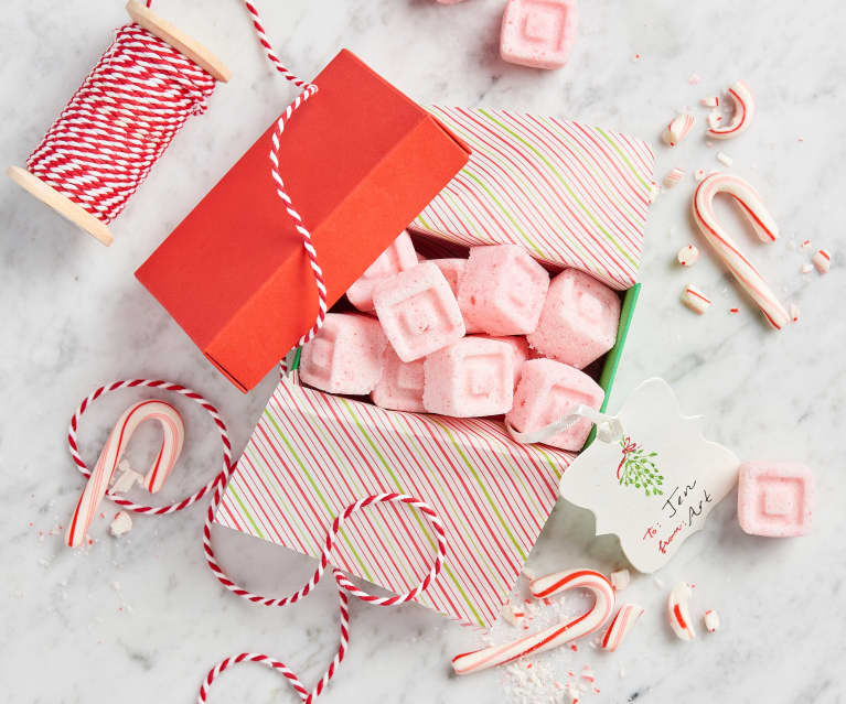 Peppermint Sugar Cubes