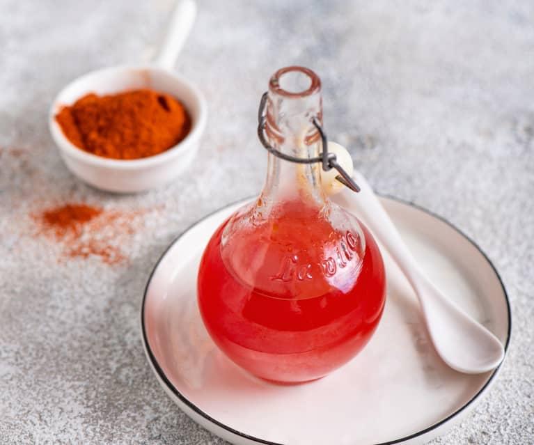 Olej aromatyzowany czerwoną papryką