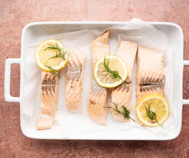 Filetes de pescado al vapor (5-6)