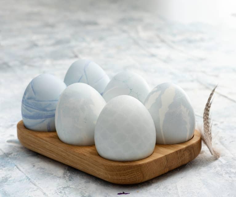 Huevos de color azul claro