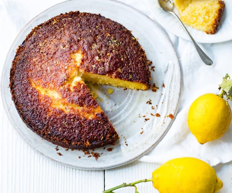 Gâteau sans gluten citron et coco