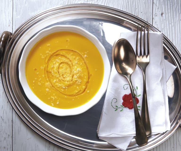 Zupa krem z kopru włoskiego i marchewki