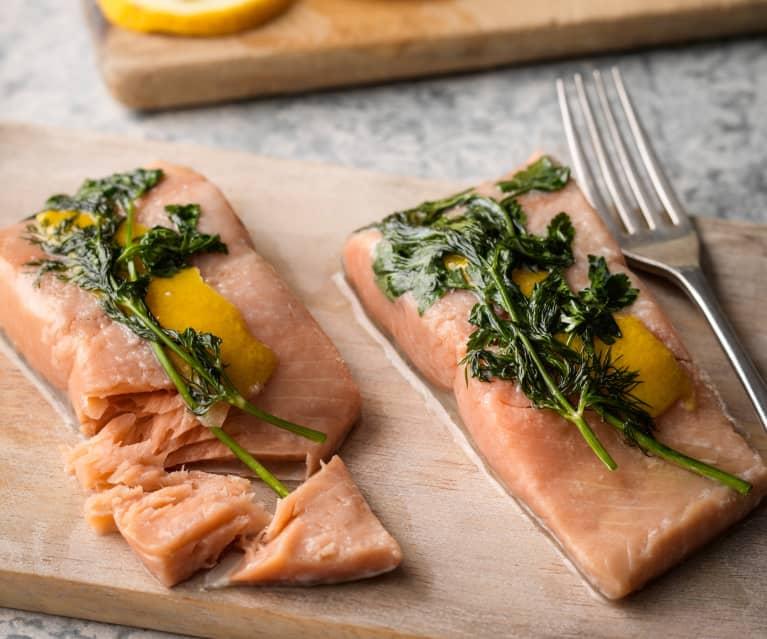 Salmon with Aromatics at 50°C