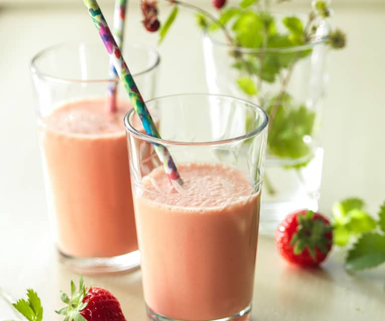 Erdbeer-Orangen-Smoothie
