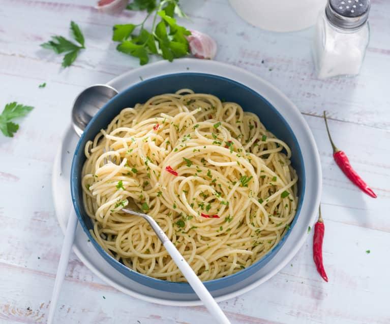 "Espaguetis ""aglio e olio"" (Chef)"