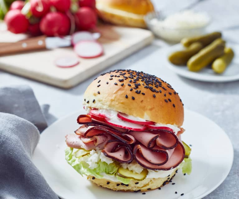 Leberkäseburger