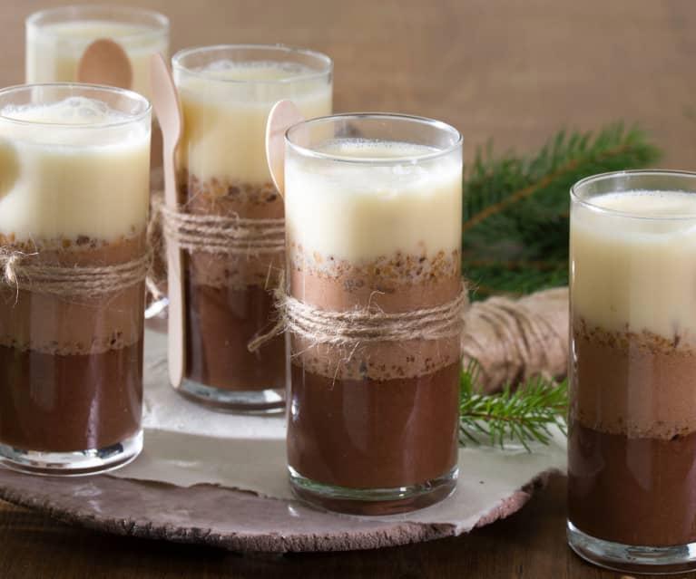 Mousse tres chocolates