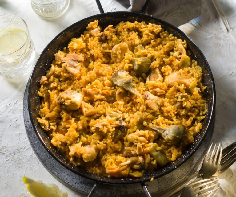 Paella (Cocción de arroz)