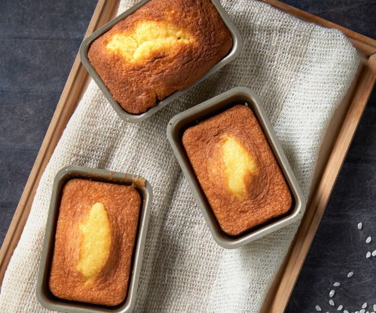 Minicakes de yogur (sin gluten)