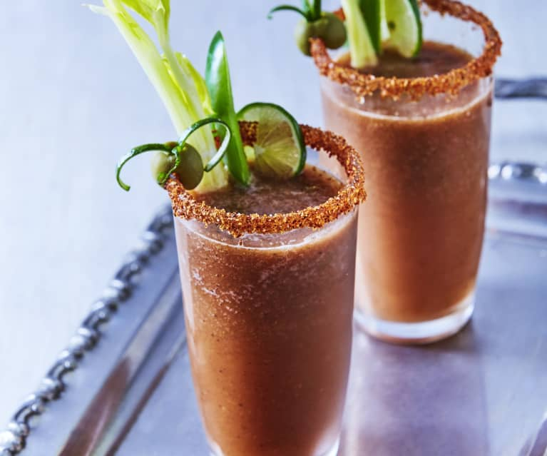 Bloody Mary and Spiced Citrus Dust