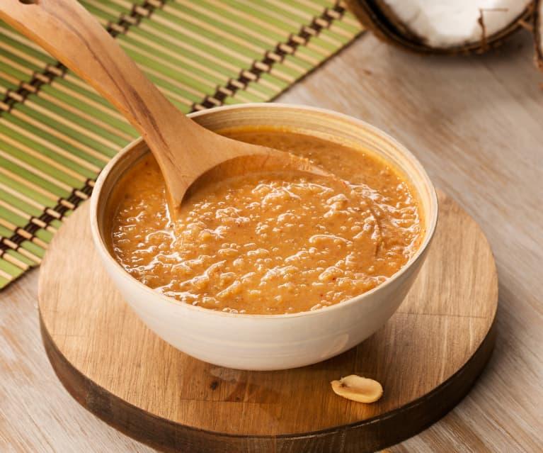 Salsa de cacahuetes (Kacang sambal) - Indonesia