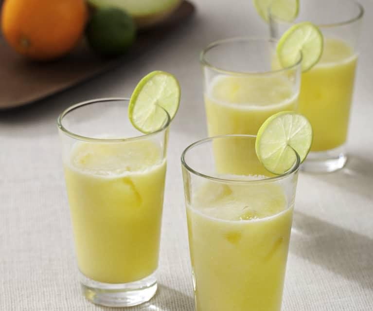 Cóctel de melón y naranja