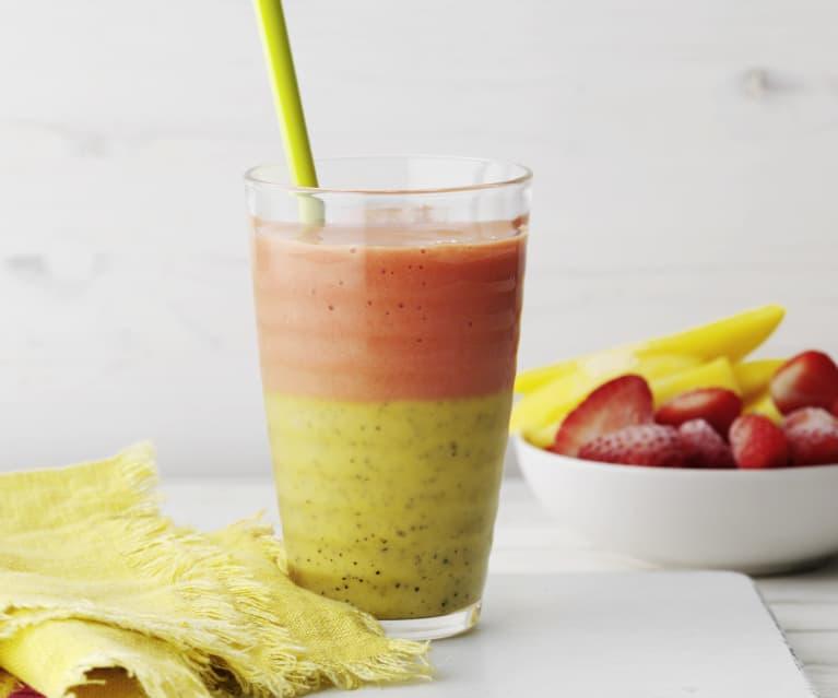 Smoothie mango e ananas